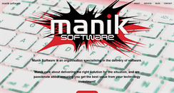 Preview of manik-software.co.uk
