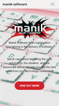 Mobile Preview of manik-software.co.uk